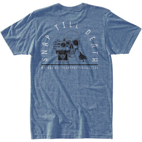 Hippy Tree Shaka T-paita Miehet, heather light blue